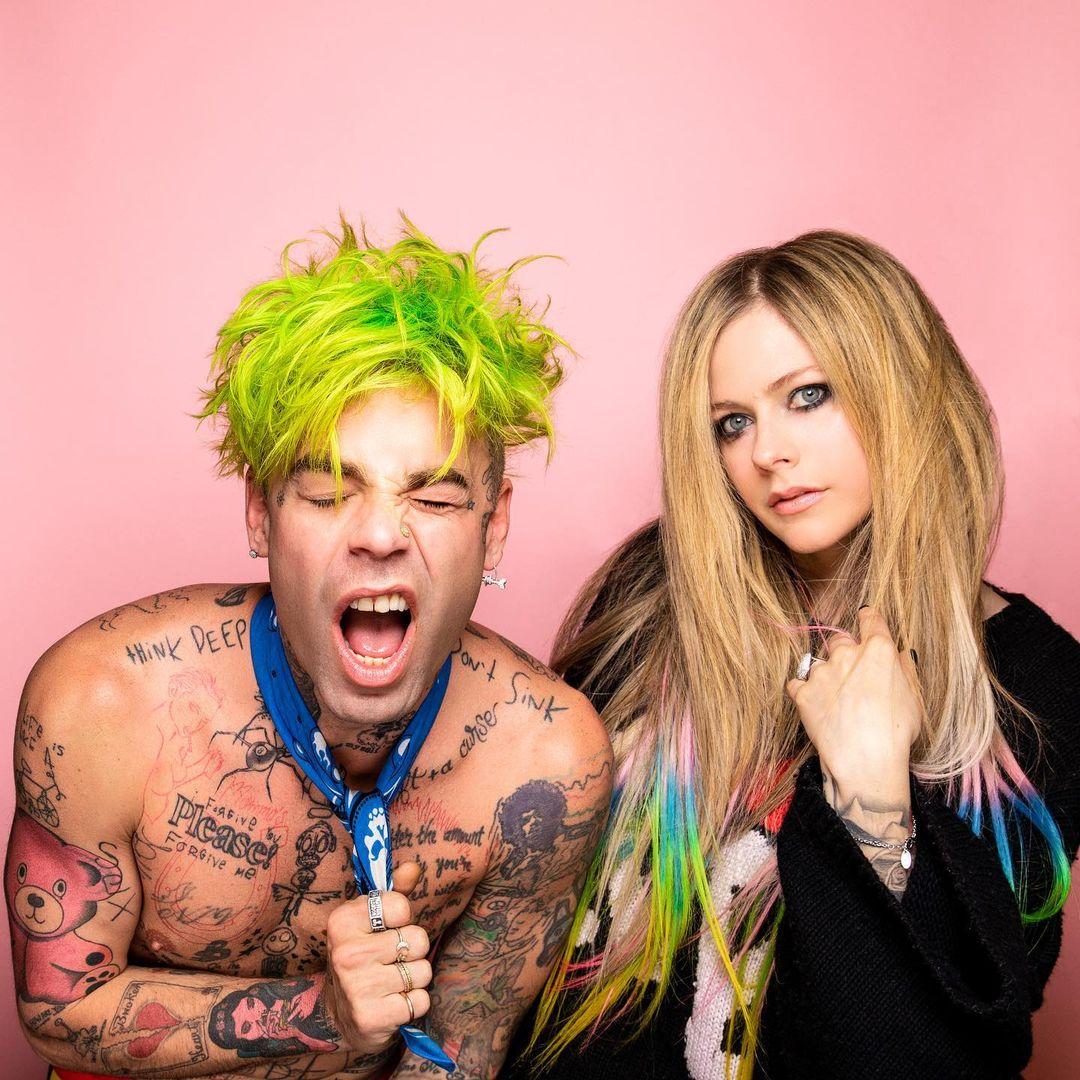 Mod Sun and Avril Lavigne