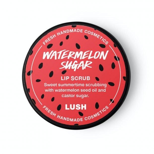 Lush Watermelon Sugar lip scrub