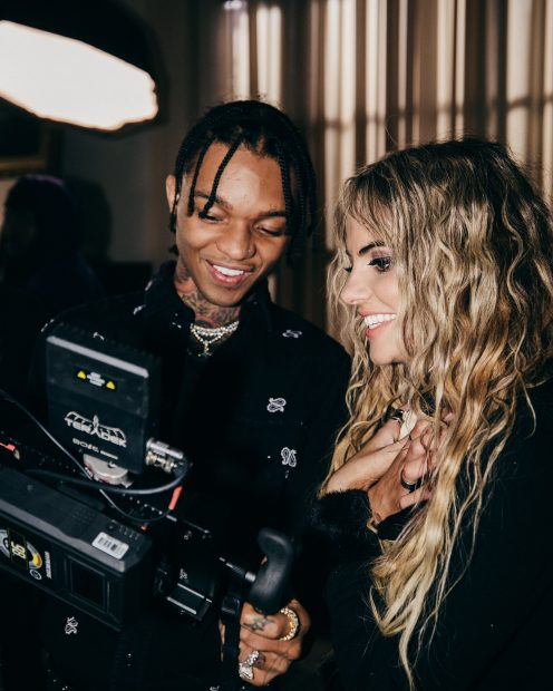 Chelsea Collins and Swae Lee
